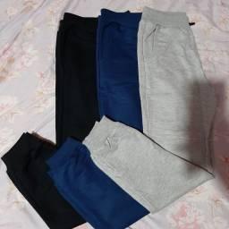 Kit 3 calça moletom varias marcas