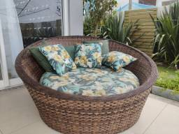 Chaise de madeira semi nova