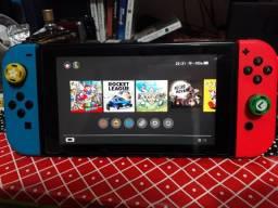 Nintendo Switch + jogos digitais originais