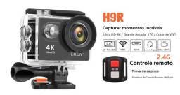 Câmera Action Eken H9R ultra hd 4k Wifi Acessórios + Bateria Extra + Carregador + Estojo