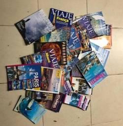 """""""31 revistas de viagens e 1 mapa em santa cruz do sul"""