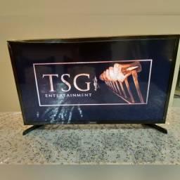 Smart tv 32 polegadas + netflix + youtube + controle remoto