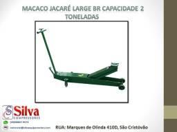 Macaco Jacare 02 Ton. Br Large Potente Brasil Nacional