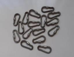 Mosquetões com trava roscada - Usados