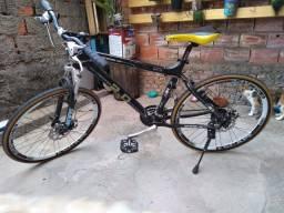 Bicicleta para Trilha com peças Shimano e GT Aro 20 BICICLETA NOVA
