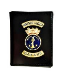 Carteira em couro da Marinha