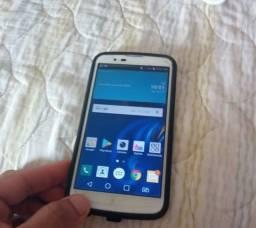 Smartphone lg k10 tv 16g interno 1 chip lindo