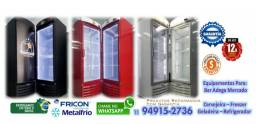 Geladeira Expositora MetalFrio