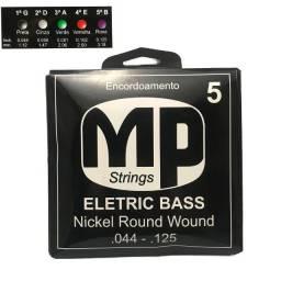 Jogo de Cordas para Baixo Elétrico 5 cordas MP Strings