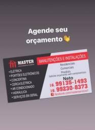 Master serviços