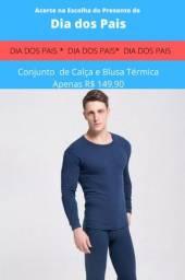 Conjunto  de Calça e Blusa Térmica