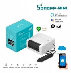 Sonoff Diy Mini WI-FI- Bivolt 10a Com Saída Para Interruptor Convencional