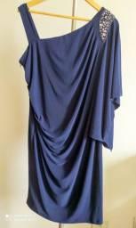 Vestido Azul Marinho - Festa