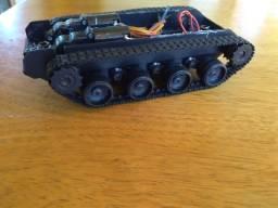 Carro Chassi robô tanque DIY