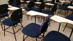 Cadeira universitária modelo secretaria