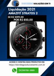 Liquidação - Smartwatch Xiaomi Amazfit Stratos 2 Black