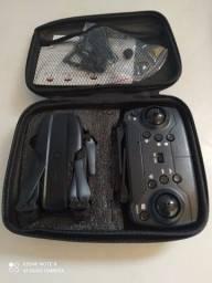 mini drone k3 com camera 4k 1080p gps, wifi,fvp dobrável