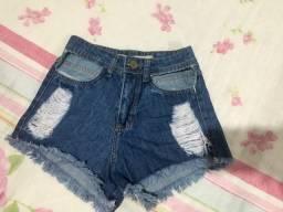 Short jeans NEGA PALITO