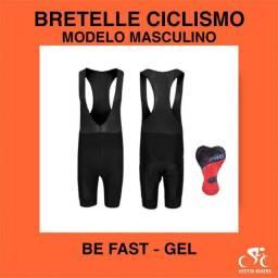 Bretelle Ciclismo BeFast Masculino com Forro em Gel