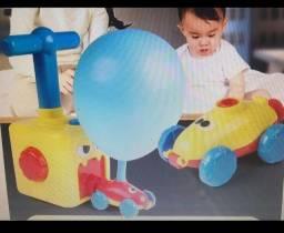 Power balloon brinquedo car carro balão