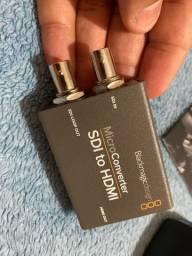 MicroConverter SDI to HDMI da Blackmagic com fonte original