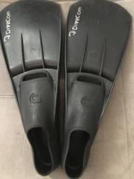 Nadadeiras pé de pato Divecom