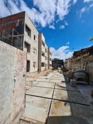 Apartamentos  em construção térreo e 1 andar