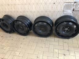 Rodas de ferro polo