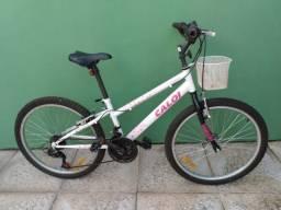 Vendo uma bicleta  Caloi ceci    24   R$ 290,00