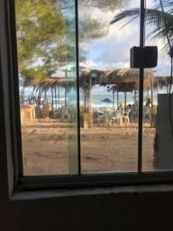 Alugo Diária  Casinha de Praia em Monte Alto  Frente para Praia )