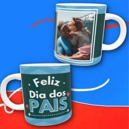 Canecas personalizadas Dia dos Pais com foto