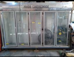 Freezer vertical 5 portas