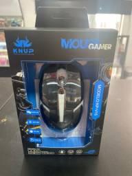 Mouse gamer knup óptico com fio