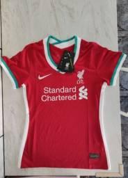 Camisa Liverpool Feminina