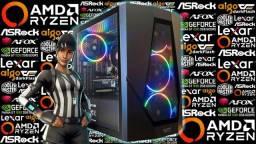 PC Gamer Ryzen 5 1600 AF + GeForce GT 1030 | Novo c/ Garantia!