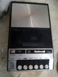 """Gravador antigo national rq 322s """"""""para colecionadores"""""""""""