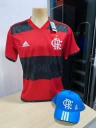 Camisas do Flamengo Original + Bonés
