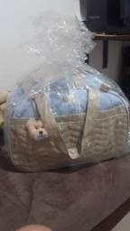Vendo kit bolsa maternidade masculino c/ 4 peças