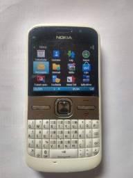Celular Nokia e5 ligações rádio calculadora agenda