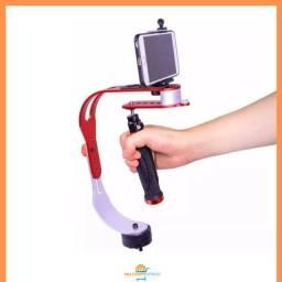 Steadycam Gimbal Estabilizador para Celular e Câmera Gravação de vídeos