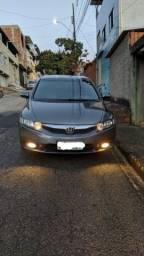 Vendo civic lxl automatico 1,8 cinza 2010\2011