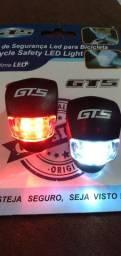 Luz de Segurança Para Bicicleta - GTS Original