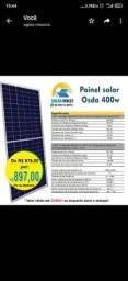 Promoção Placa solar 400w NOVA!