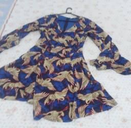 Vestido Azul Zaffir