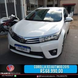 Corolla XEI aut mod. 2015 R$ 68.990,00