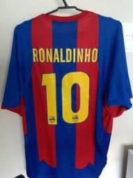Camisa Barcelona Ronaldinho
