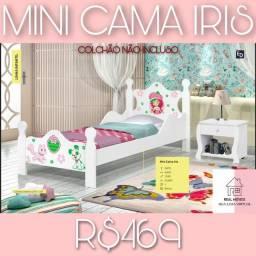 Título do anúncio: Mini cama íris/ íris mini cama -73828
