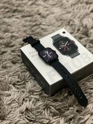Novo Smartwatch Colmi GTS 2 Tela Infinita Touch Faz Chamadas Relogio Inteligente FM08