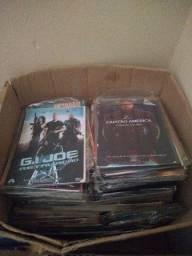 DVDs da feira conservados