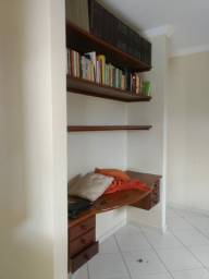 Vendo mesa de escritório de madeira maciça  (182 comprimento 58 largura